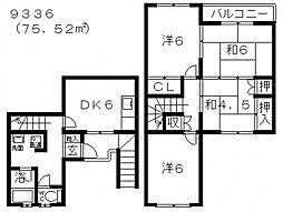 藤井寺ガーデンハイツ[207号室号室]の間取り
