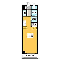 M・O・SBLD[3階]の間取り