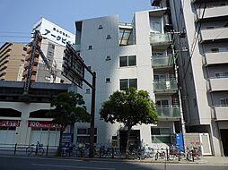 メニュール新福島マンション[1階]の外観