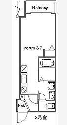 Rita Ferio[1階]の間取り