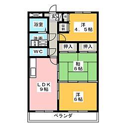 コンフォート悠とぴあ[4階]の間取り