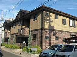 大阪府摂津市千里丘2丁目の賃貸アパートの外観