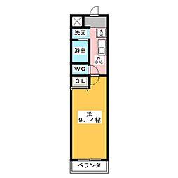 タウンコート春日井[5階]の間取り