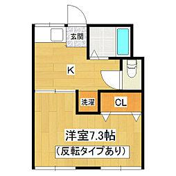 KMS、S-5 A-2[1階]の間取り