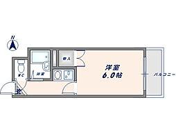 オーナーズマンション友井[1階]の間取り