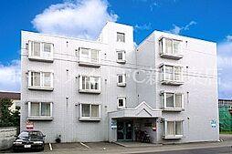 北海道札幌市東区北二十八条東12丁目の賃貸マンションの外観