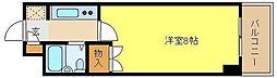 ジュネス姫路II[6階]の間取り