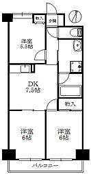 第7水野マンション[373号室]の間取り