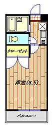 RHK栄和8[302号室]の間取り