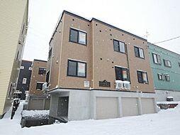 北海道札幌市手稲区稲穂二条7丁目の賃貸アパートの外観
