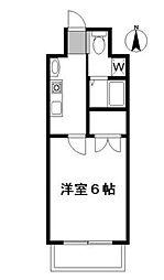 東京都豊島区西池袋4丁目の賃貸マンションの間取り