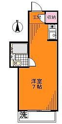 ハイツ千束苑[3階]の間取り