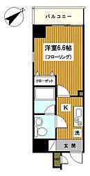 横浜コーヨー十番館[501号室]の間取り