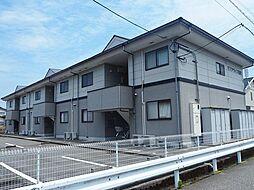 富山県富山市本郷新の賃貸アパートの外観