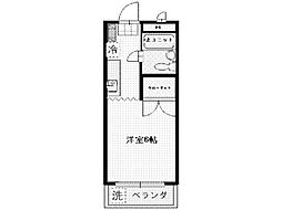 メゾンド天王山[2階]の間取り
