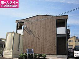 愛知県愛知郡東郷町大字諸輪字観音畑の賃貸アパートの外観