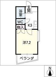 ベル・コモンズ八幡山[1階]の間取り