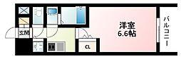 Osaka Metro御堂筋線 東三国駅 徒歩5分の賃貸マンション 4階1Kの間取り