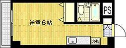神崎ビル[303号室]の間取り