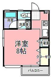 ハウス・エム[101号室]の間取り