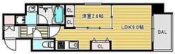 ファーストフィオーレ心斎橋イーストII[10階]の間取り