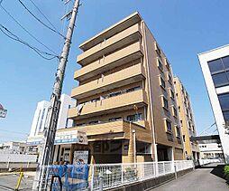 京都府京都市南区上鳥羽北花名町の賃貸マンションの外観