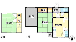 [テラスハウス] 兵庫県相生市那波野3丁目 の賃貸【/】の間取り