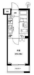 京成押上線 京成立石駅 徒歩9分の賃貸マンション 3階1Kの間取り