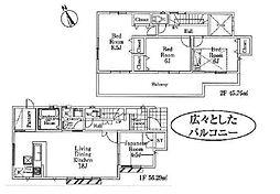 流山駅 3,480万円