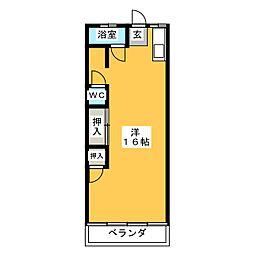 伊藤ビル[4階]の間取り