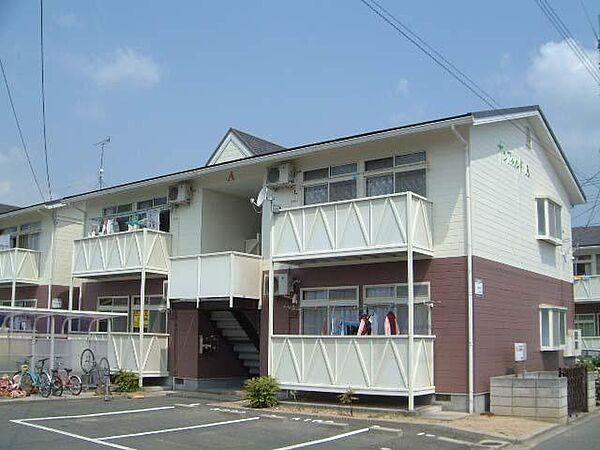 サンフィールドA・B 2階の賃貸【広島県 / 福山市】
