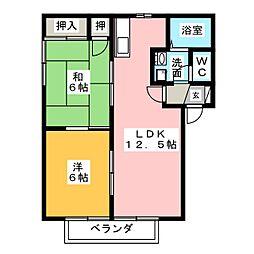 セピアコート[2階]の間取り