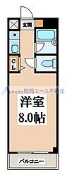 ドゥリーム新今里[5階]の間取り