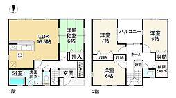 香芝駅 2,280万円