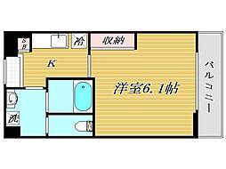 リブリ・kawaguchi[3階]の間取り