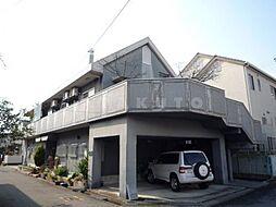 ハイツ上野台F棟[1階]の外観