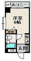 ジャルダン宝塚弐番館[204号室]の間取り