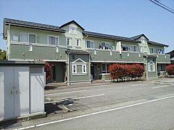 富山県富山市八尾町福島四丁目の賃貸アパートの外観