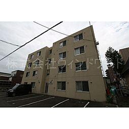 北海道札幌市東区北三十八条東16丁目の賃貸マンションの外観