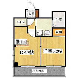ユアステージ[3階]の間取り