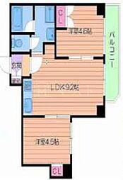 タウンコート[3階]の間取り