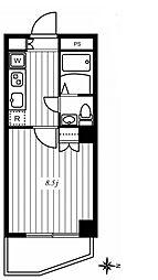 ラ・フェニーチェII[202号室号室]の間取り
