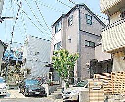 東京都世田谷区岡本3丁目の賃貸アパートの外観