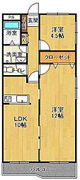 コートドール[2階]の間取り