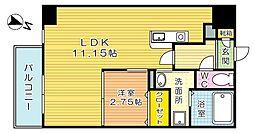 スタディ飛幡[2階]の間取り