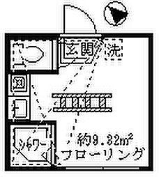 フェリスセイル[1階]の間取り