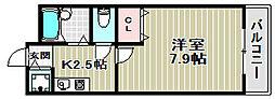 ルーチェI番館[3階]の間取り