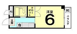 ラ・ウィン村田[303号室]の間取り
