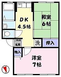 [タウンハウス] 鳥取県米子市美吉 の賃貸【/】の間取り