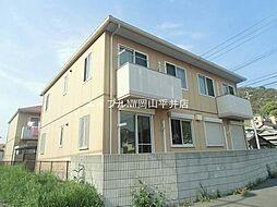 岡山県玉野市築港4の賃貸アパートの外観